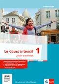 Le Cours intensif, Ausgabe 2016: Cahier d'activités mit Multimedia-CD und Online-Übungen; Bd.1