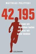 42,195 - Warum wir Marathon laufen und was wir dabei denken