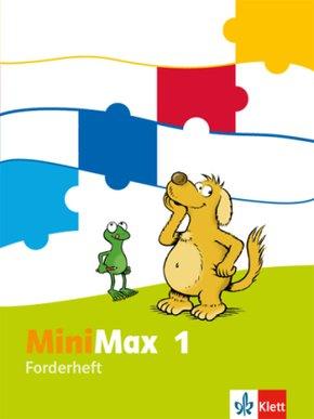 MiniMax: 1. Schuljahr, Forderheft