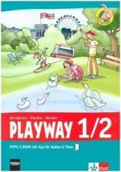 Playway ab Klasse 1, Ausgabe 2016: Playway 1/2. Ab Klasse 1. Ausgabe Hamburg, Nordrhein-Westfalen, Baden-Württemberg, Berlin, Brandenburg, m. 1 Audio-CD; 4