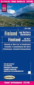 Reise Know-How Landkarte Finnland und Nordskandinavien / Finland and Northern Scandinavia (1:875.000); Finlande et nord