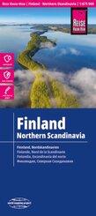 Reise Know-How Landkarte Finnland und Nordskandinavien / Finland and Northern Scandinavia (1:875.000); Finlande et nord