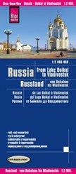 Reise Know-How Landkarte Russland - vom Baikalsee bis Wladiwostok (1:2.000.000); Russia, From Lake Baikal to Vladivostok