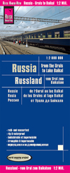 Reise Know-How Landkarte Russland - vom Ural zum Baikalsee (1:2.000.000); Russia - From the Urals to the Lake Baikal / R