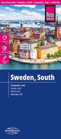 Reise Know-How Landkarte Schweden Süd (1:500.000); Southern Sweden / Suède sud / Suecia sur