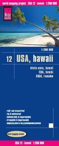 Reise Know-How Landkarte USA 12, Hawaii (1:200.000)