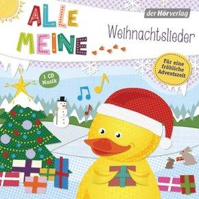 Alle meine Weihnachtslieder, 1 Audio-CD