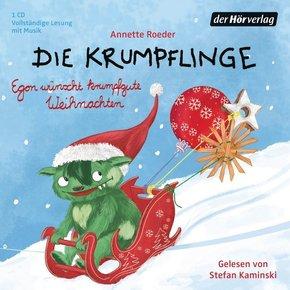 Die Krumpflinge - Egon wünscht krumpfgute Weihnachten, 1 Audio-CD