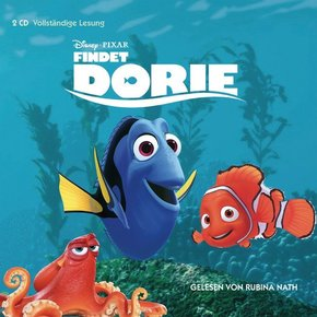 Findet Dorie, 2 Audio-CDs
