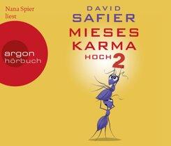 Mieses Karma hoch 2, 6 Audio-CDs