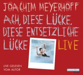 Ach, diese Lücke, diese entsetzliche Lücke. Live, 10 Audio-CDs