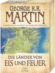 Die Länder von Eis und Feuer - 12 vierfarbige Landkarten der Welt von Game of Thrones