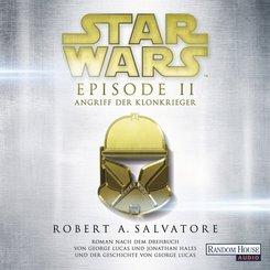Star Wars(TM) - Episode II - Angriff der Klonkrieger, 2 MP3-CDs