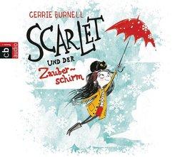 Scarlet und der Zauberschirm, 1 Audio-CD - Tl.1