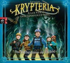 Krypteria - Jules Vernes geheimnisvolle Insel - Das Geheimnis der Höhle, 1 Audio-CD