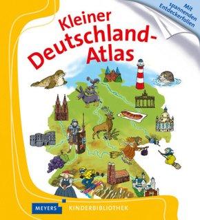 Kleiner Deutschland-Atlas - Meyers Kinderbibliothek
