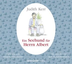 Ein Seehund für Herrn Albert, 1 Audio-CD