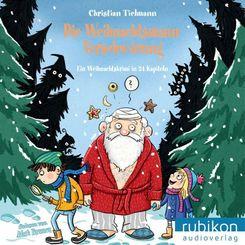 Die Weihnachtsmann-Verschwörung, Audio-CD