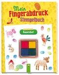 Mein Fingerabdruck-Stempelbuch Bauernhof