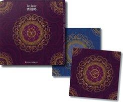 Der Zauber Indiens - Untersetzer lila, 2er-Set