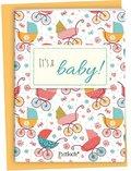 It's a baby!, Spruch-Heftchen mit Kuvert