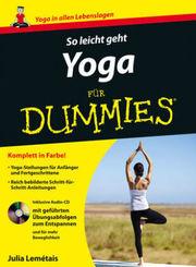 So leicht geht Yoga für Dummies, m. Audio-CD