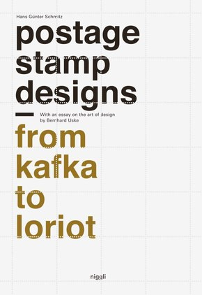 Postage Stamp Designs - From Kafka to Loriot