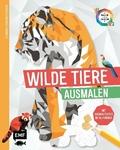 Tierisch geometrisch - Malen nach Zahlen: Wilde Tiere ausmalen