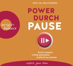 Power durch Pause, 3 Audio-CD
