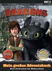 DreamWorks Dragons: Mein großes Adventsbuch