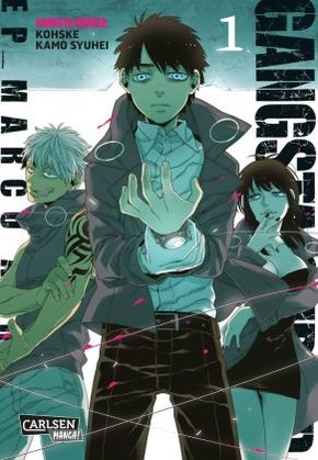 Gangsta: Cursed. - EP_Marco Adriano - Bd.1