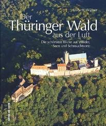 Der Thüringer Wald aus der Luft