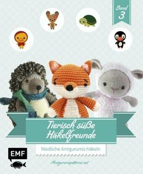 Tierisch süße Häkelfreunde - Bd.3