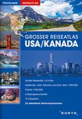 Großer Reiseatlas USA / Kanada