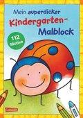 Mein superdicker Kindergarten-Malblock