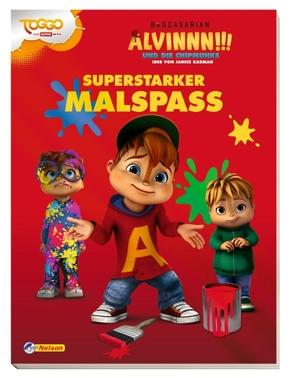 Alvinnn!!! und die Chipmunks - Superstarker Malspaß