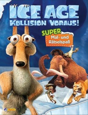 """Ice Age """"Kollision voraus!"""" - Super Mal- und Rätselspaß"""