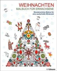 Malbuch für Erwachsene: Weihnachten