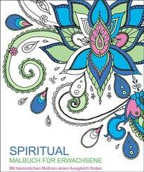 Malbuch für Erwachsene - Spiritual