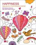 Malbuch für Erwachsene - Happiness