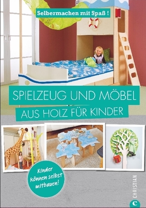 Spielzeug und Möbel aus Holz für Kinder