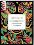 Zencolor. Black Edition. Coloring-Book