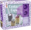 Cookie Cups, Süße Verführungen im Keksbecker, m. Silikon-Backform