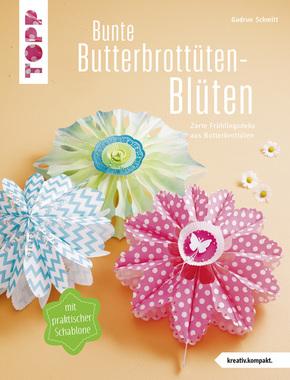 Bunte Butterbrottüten-Blüten