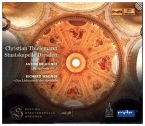 Staatskapelle Dresden: Bruckner & Wagner, 2 Audio-CDs