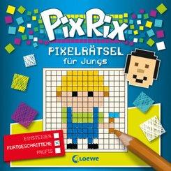 Pix Rix: Pixelrätsel für Jungs (Fortgeschrittene)