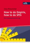 How to do Empirie, how to do SPSS
