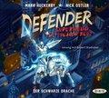 Defender - Superheld mit blauem Blut. Der Schwarze Drache, 4 Audio-CDs