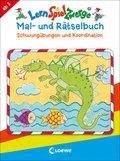 LernSpielZwerge Mal- und Rätselbuch - Schwungübungen und Koordination
