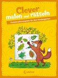 Clever malen und rätseln - Kombinationsspiele für den Kindergarten